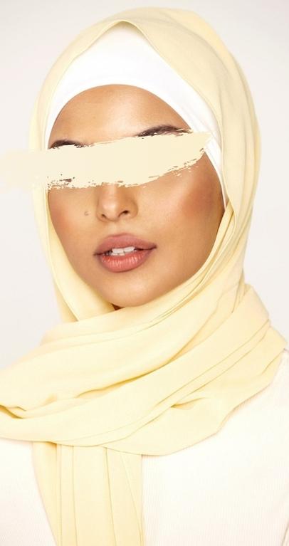 Hijab Mousseline