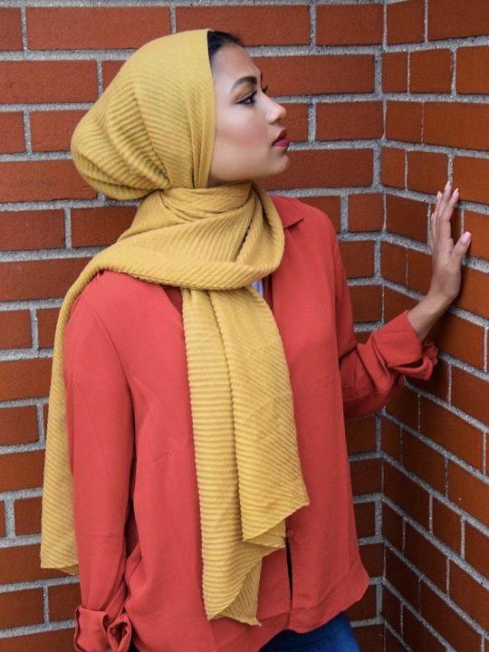 Hijab Plissé