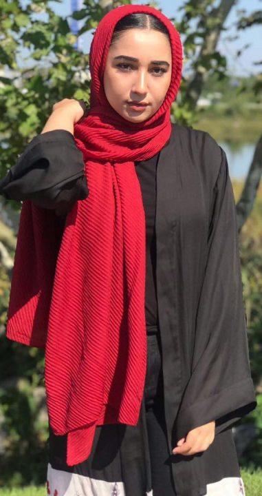 Hijab Plissé Careena
