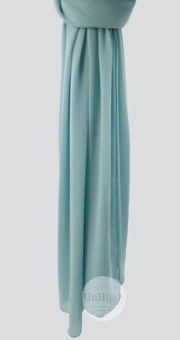 chiffon.prm .turquoise.lcopie