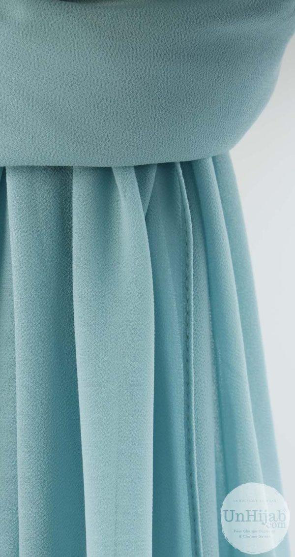 chiffon.prm .turquoise.ld