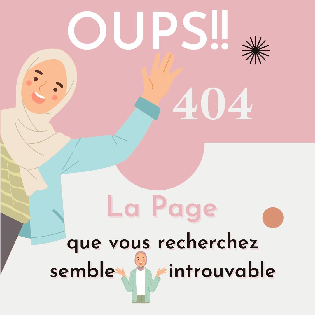 HIjab Boutique Page Introuvable