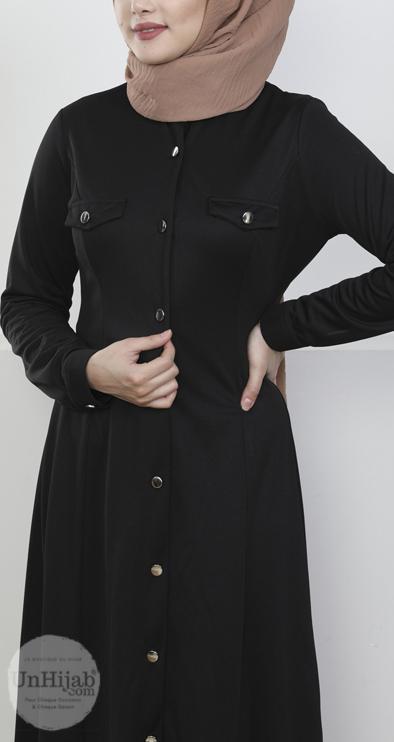 robe.Jersey.noir 1