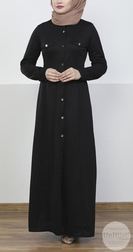 robe.Jersey.noir 2