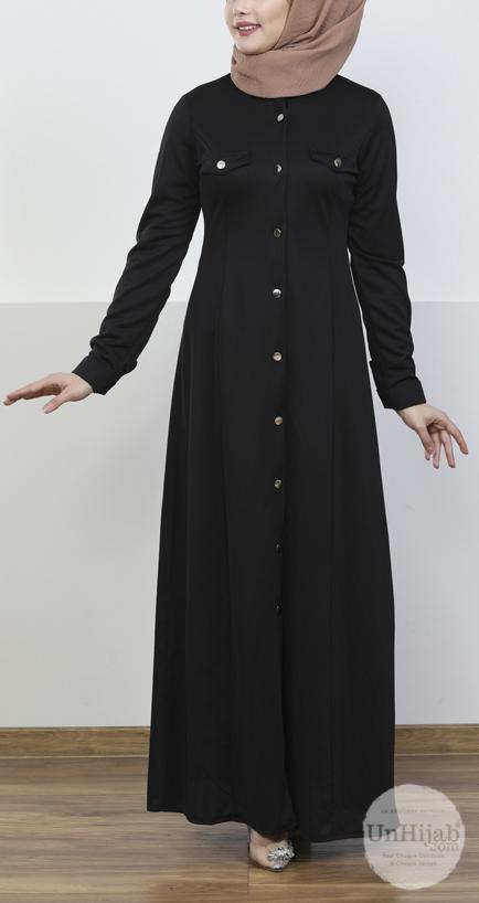 robe.Jersey.noir 3