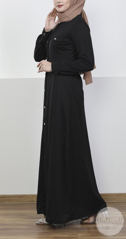 robe.Jersey.noir 4