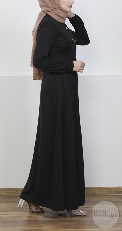 robe.Jersey.noir 6