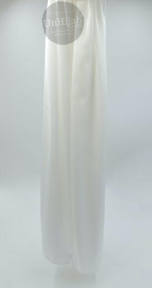 Hijab Satin Blanc