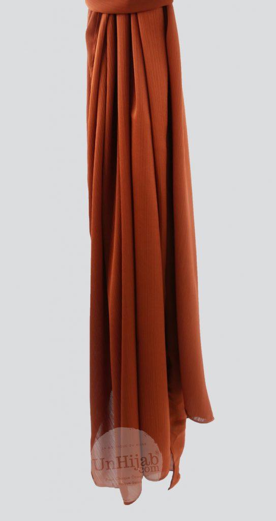 Hijab Satin Cinnamon