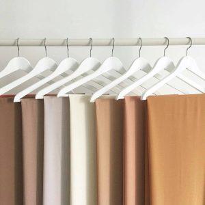 Collection Hijab mousseline de Soie Riley