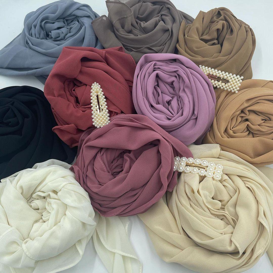 Hijab Mousseline XL