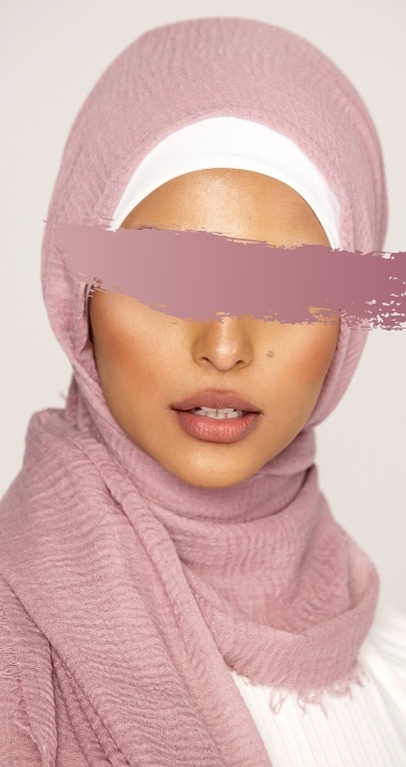 Hijab Froissé